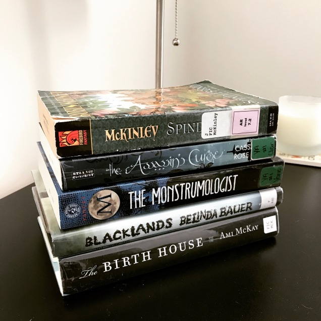 jan library haul